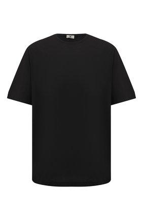 Мужская хлопковая футболка KIRED черного цвета, арт. WBACI0LW7321007001/64-74 | Фото 1
