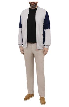 Мужская хлопковая футболка KIRED черного цвета, арт. WBACI0LW7321007001/64-74 | Фото 2