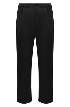 Мужские брюки NEIL BARRETT черного цвета, арт. PBPA817X/Q007 | Фото 1