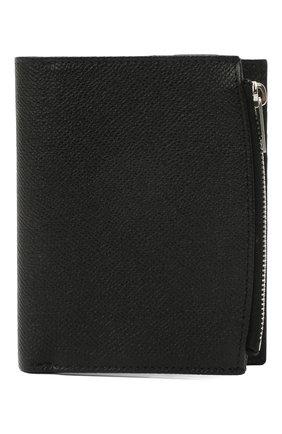 Мужской кожаное портмоне MAISON MARGIELA черного цвета, арт. S35UI0437/P0399 | Фото 1