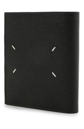 Мужской кожаное портмоне MAISON MARGIELA черного цвета, арт. S35UI0437/P0399 | Фото 2