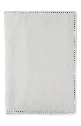 Мужской кожаная обложка для паспорта MAISON MARGIELA белого цвета, арт. S35UI0505/P4135 | Фото 1