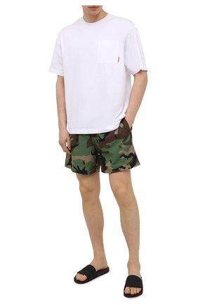 Мужские шлепанцы slaim BALLY черного цвета, арт. SLAIM/00 | Фото 2 (Материал внешний: Экокожа)