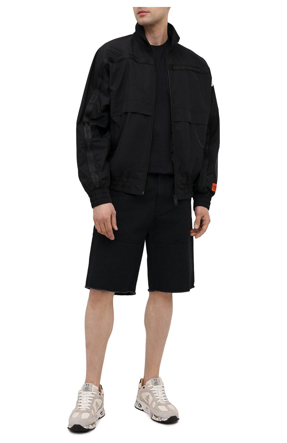 Мужские комбинированные кроссовки mase PREMIATA светло-серого цвета, арт. MASE/VAR5163 | Фото 2
