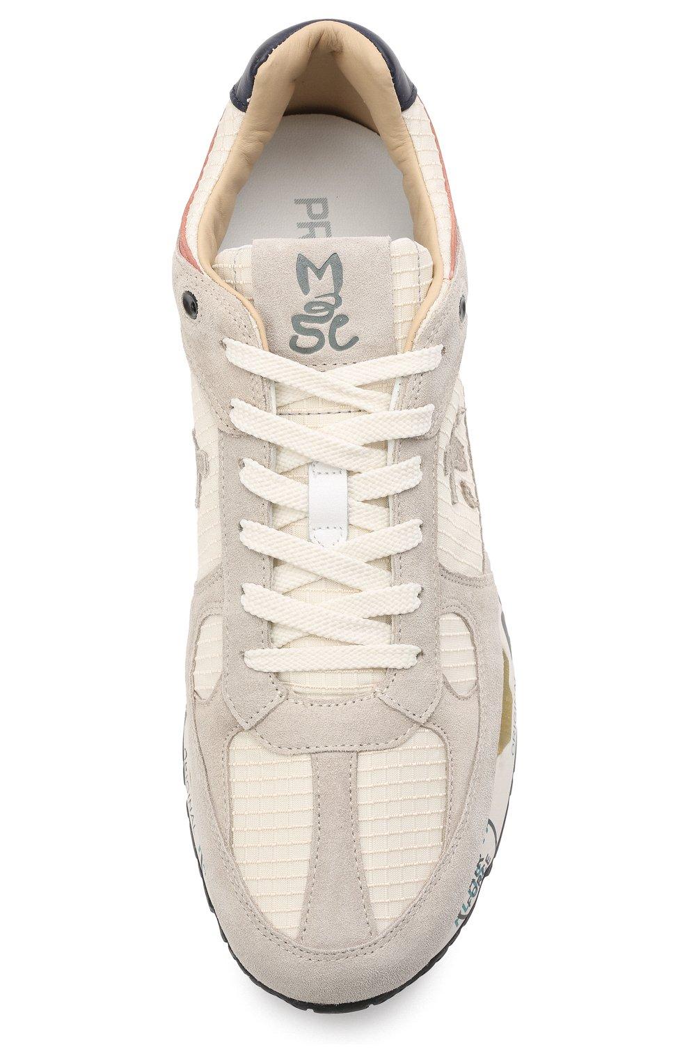 Мужские комбинированные кроссовки mase PREMIATA светло-серого цвета, арт. MASE/VAR5163 | Фото 5