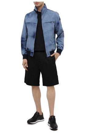 Мужские кожаные кроссовки MAGNANNI черного цвета, арт. 22926/B0LTAN | Фото 2