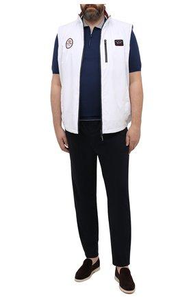 Мужские брюки BOGNER темно-синего цвета, арт. 18496619 | Фото 2