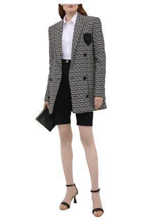 Женские кожаные босоножки carene GIVENCHY черного цвета, арт. BE3058E0XP   Фото 2
