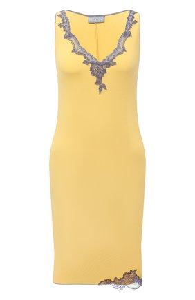 Женская сорочка GIANANTONIO PALADINI желтого цвета, арт. S15PC01/X | Фото 1