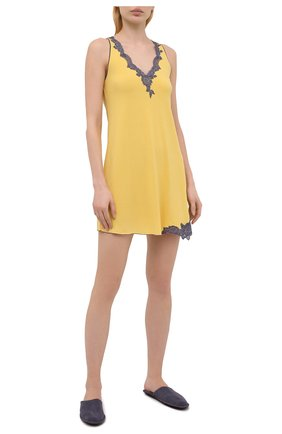 Женская сорочка GIANANTONIO PALADINI желтого цвета, арт. S15PC01/X | Фото 2