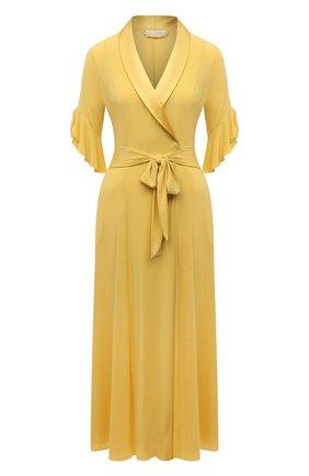 Женский халат GIANANTONIO PALADINI желтого цвета, арт. S11TV01/L | Фото 1