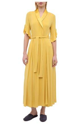 Женский халат GIANANTONIO PALADINI желтого цвета, арт. S11TV01/L | Фото 2