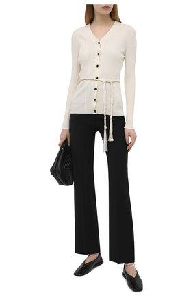 Женские брюки VALENTINO черного цвета, арт. VB0RB4C06DP | Фото 2