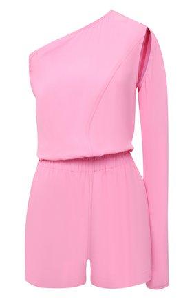 Женский комбинезон RICK OWENS розового цвета, арт. RP21S3534/CC   Фото 1