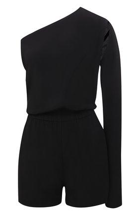 Женский комбинезон RICK OWENS черного цвета, арт. RP21S3534/CC | Фото 1