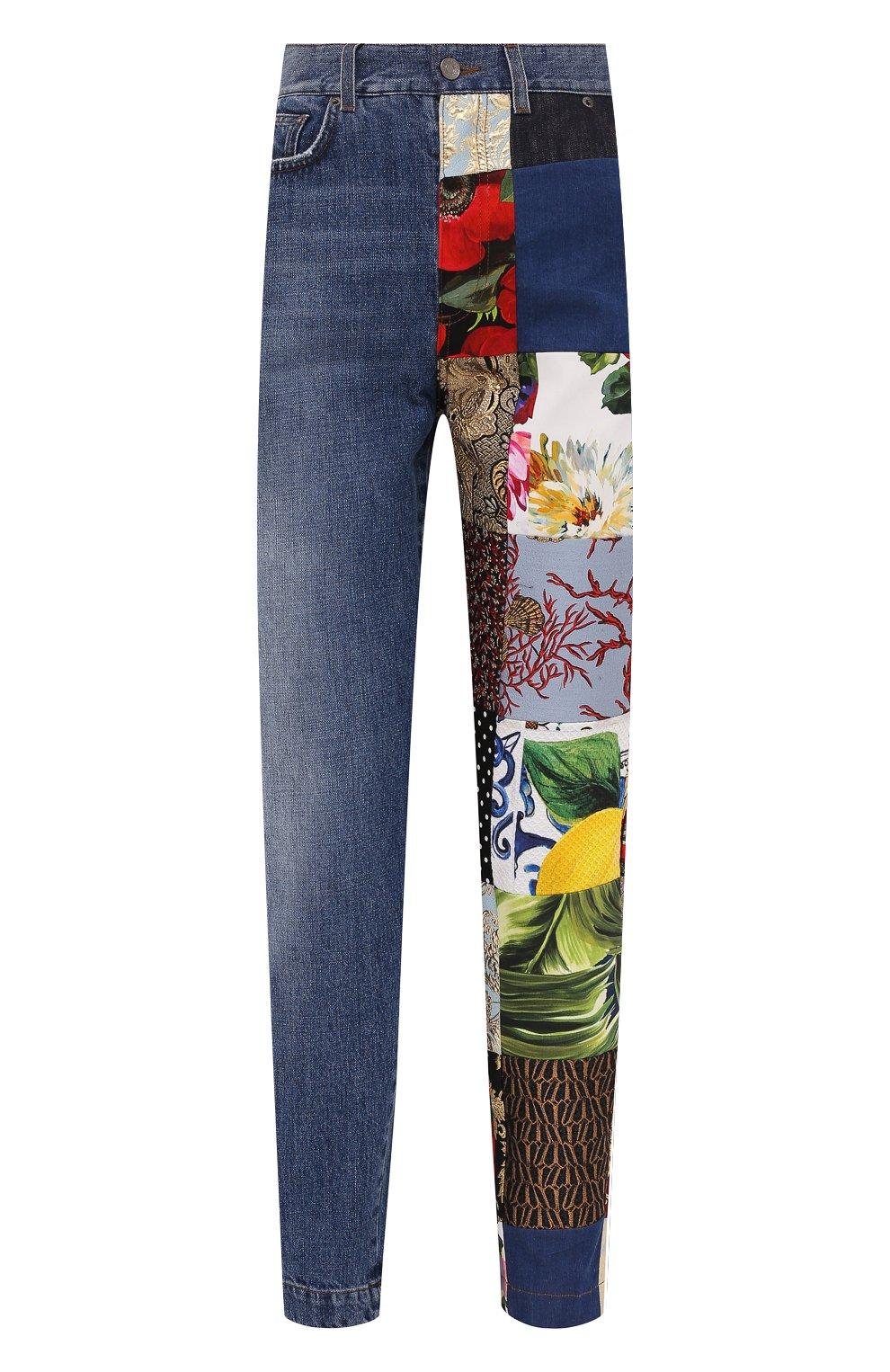 Женские джинсы DOLCE & GABBANA разноцветного цвета, арт. FTB2ID/GDX77 | Фото 1