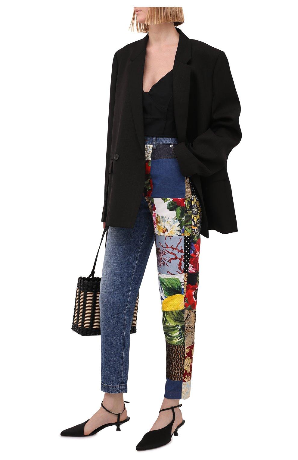 Женские джинсы DOLCE & GABBANA разноцветного цвета, арт. FTB2ID/GDX77 | Фото 2