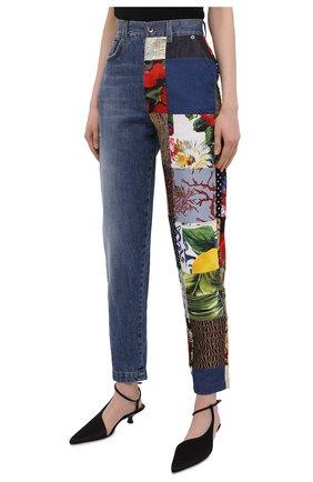 Женские джинсы DOLCE & GABBANA разноцветного цвета, арт. FTB2ID/GDX77 | Фото 3
