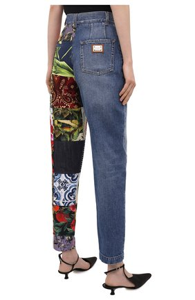 Женские джинсы DOLCE & GABBANA разноцветного цвета, арт. FTB2ID/GDX77 | Фото 4