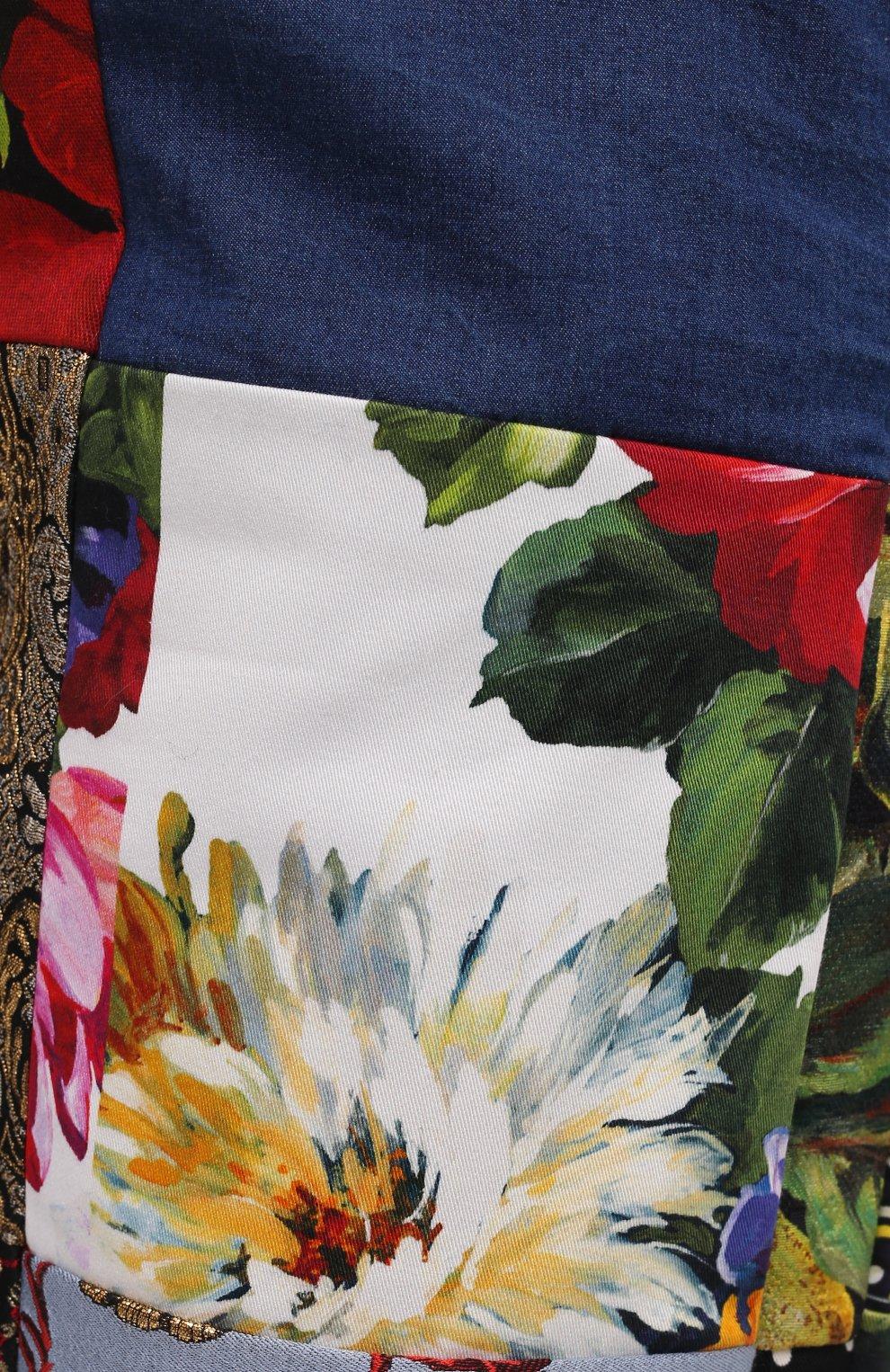 Женские джинсы DOLCE & GABBANA разноцветного цвета, арт. FTB2ID/GDX77 | Фото 5