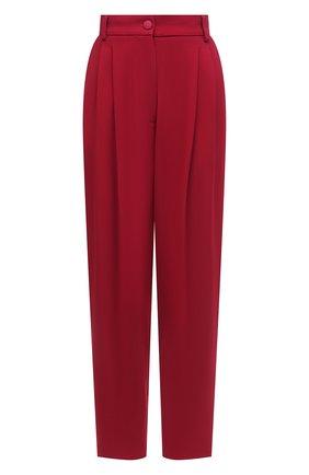 Женские брюки из вискозы DOLCE & GABBANA розового цвета, арт. FTB10T/FURDV | Фото 1