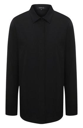 Женская хлопковая рубашка BARBARA BUI черного цвета, арт. X1406GHP | Фото 1