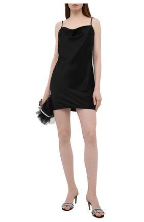 Женское платье NANUSHKA черного цвета, арт. L0TTI_BLACK_SLIP SATIN | Фото 2