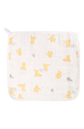 Детского комплект из трех полотенец ADEN+ANAIS желтого цвета, арт. EWCC30008DIB | Фото 2 (Материал: Текстиль, Хлопок)