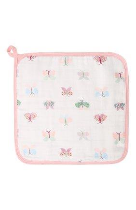 Детского комплект из трех полотенец ADEN+ANAIS розового цвета, арт. EWCC30001B | Фото 2 (Материал: Текстиль, Хлопок)