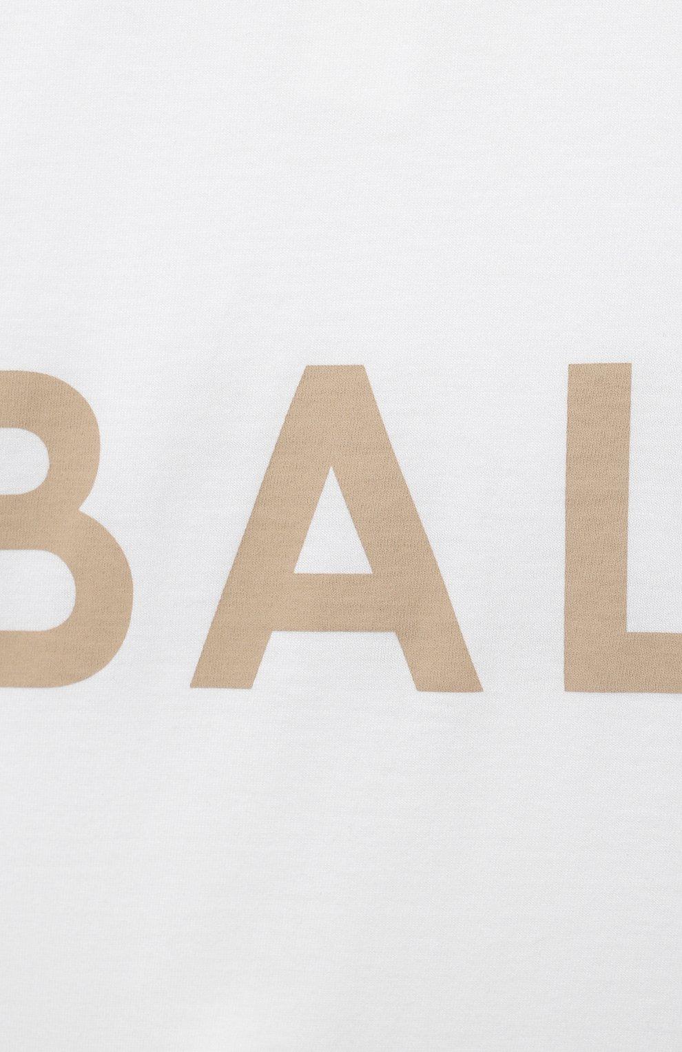 Детское компект из трех предметов BALMAIN белого цвета, арт. 6O8A31 | Фото 8