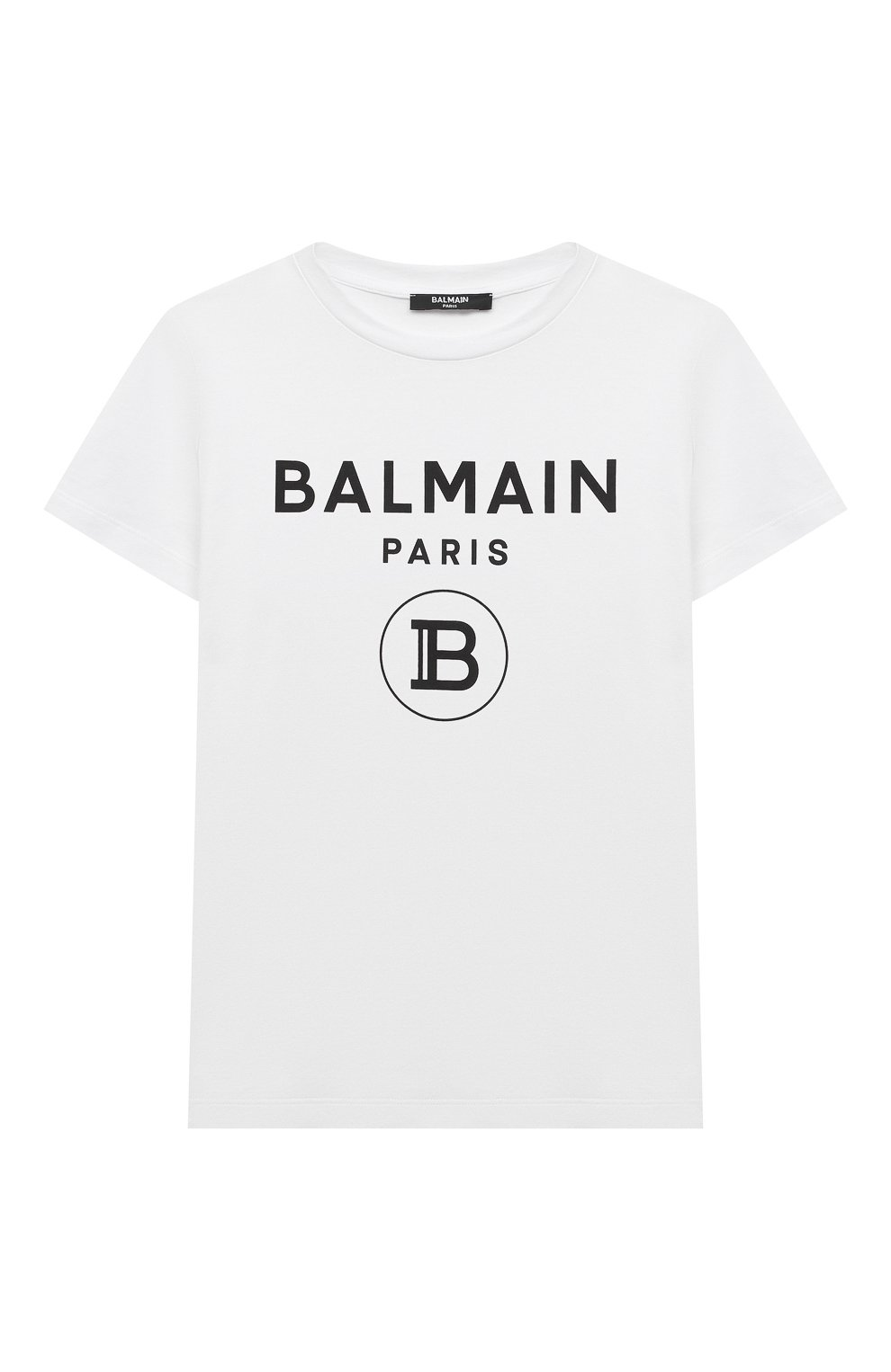 Детский футболка BALMAIN белого цвета, арт. 6M8901 | Фото 1