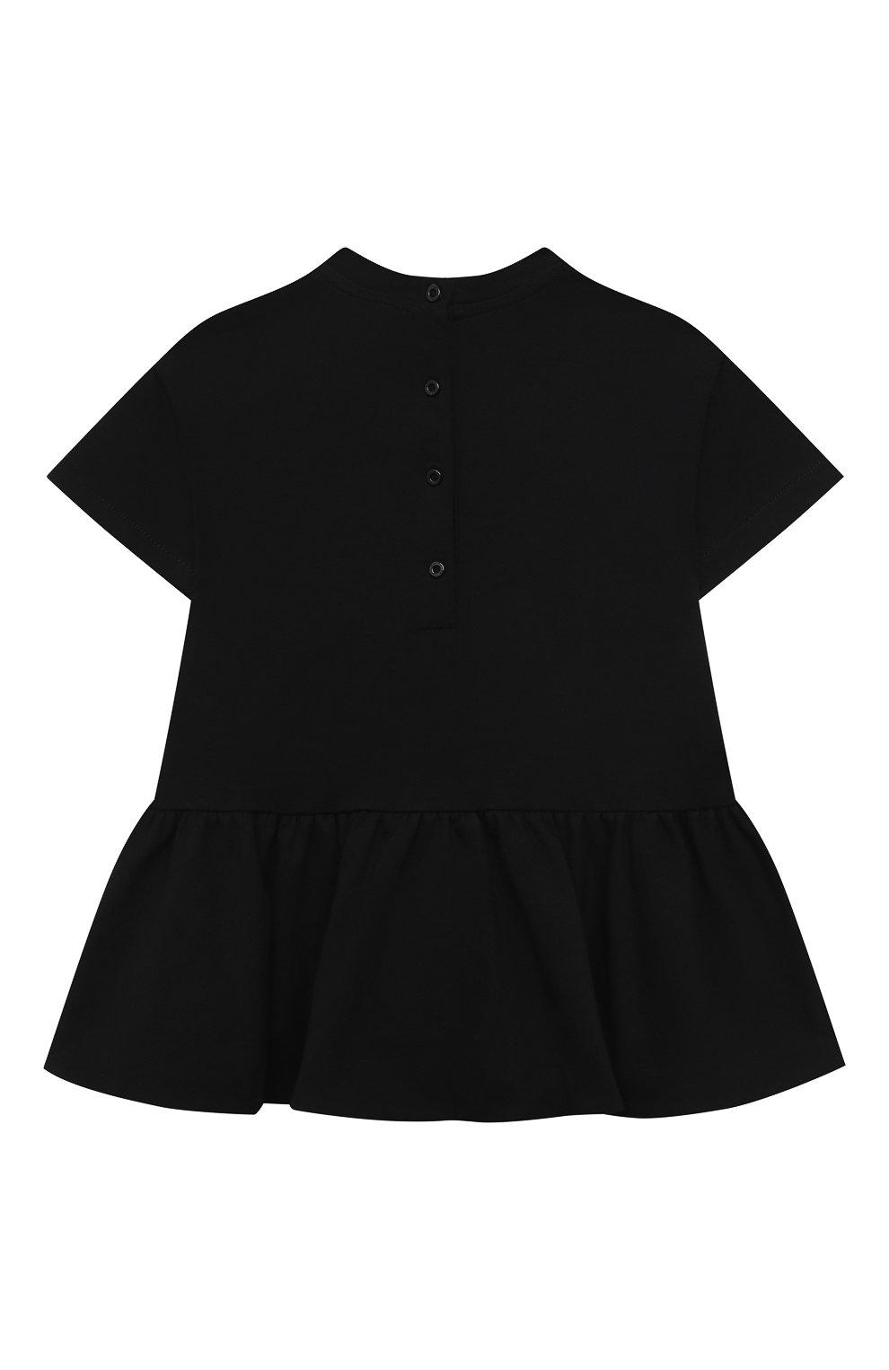 Женский платье BALMAIN черного цвета, арт. 6O1881 | Фото 2