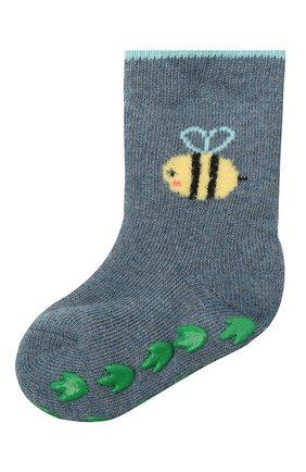 Детские носки FALKE голубого цвета, арт. 12989. | Фото 1