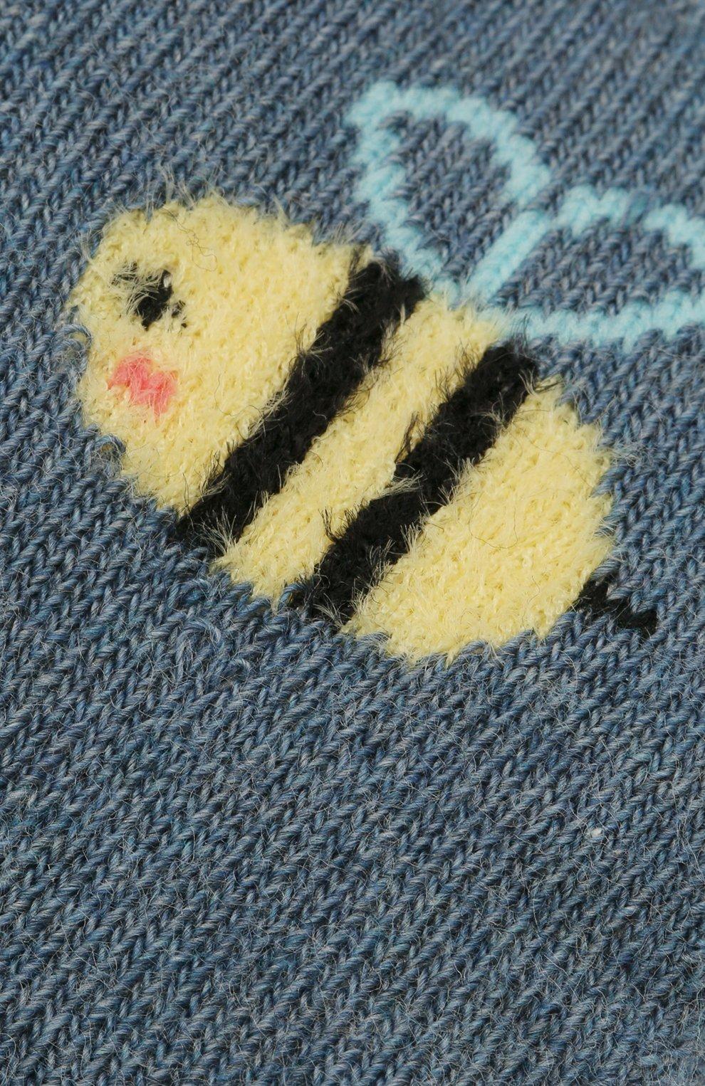 Детские носки FALKE голубого цвета, арт. 12989. | Фото 2