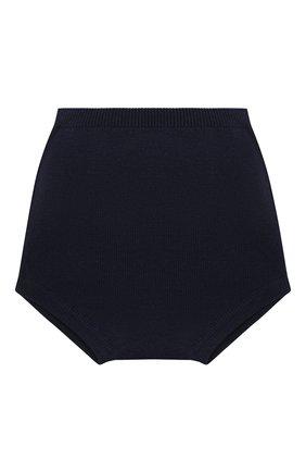 Детские хлопковые шорты LES LUTINS PARIS темно-синего цвета, арт. 21E062/CHL0E | Фото 2