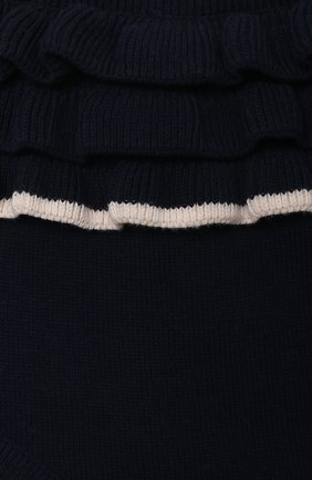 Детские хлопковые шорты LES LUTINS PARIS темно-синего цвета, арт. 21E062/CHL0E   Фото 3