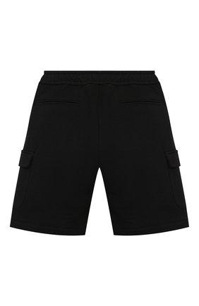 Детские хлопковые шорты PAOLO PECORA MILANO черного цвета, арт. PP2713/8A-12A   Фото 2