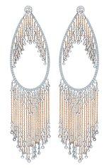 Женские серьги MIKE JOSEPH бесцветного цвета, арт. EAR219 | Фото 1 (Драгоценные камни: Бриллианты; Материал сплава: Белое золото)