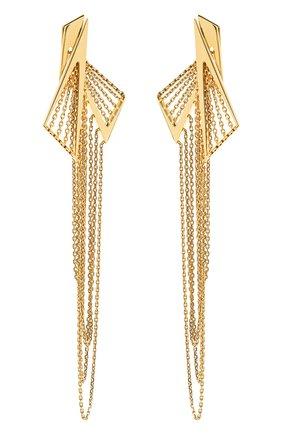 Женские серьги MIKE JOSEPH желтого золота цвета, арт. EAR253   Фото 1