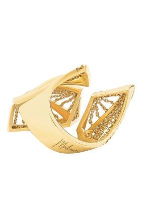 Женские кольцо MIKE JOSEPH желтого золота цвета, арт. RG093   Фото 2