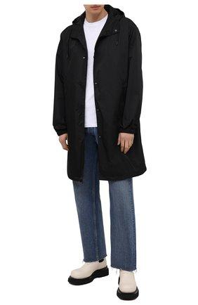 Мужские кожаные челси lug BOTTEGA VENETA кремвого цвета, арт. 634403/VBS50 | Фото 2 (Материал внутренний: Натуральная кожа; Мужское Кросс-КТ: Сапоги-обувь, Челси-обувь; Подошва: Массивная; Каблук высота: Высокий)