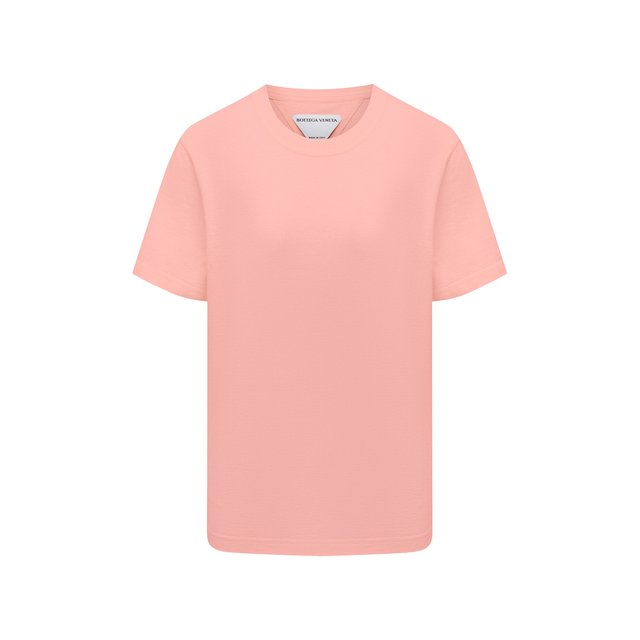 Хлопковая футболка Bottega Veneta