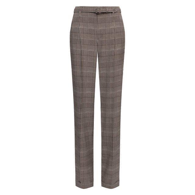 Шелковые брюки Ralph Lauren