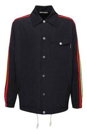 Мужская куртка PALM ANGELS черного цвета, арт. PMEA076S21FAB0021084 | Фото 1
