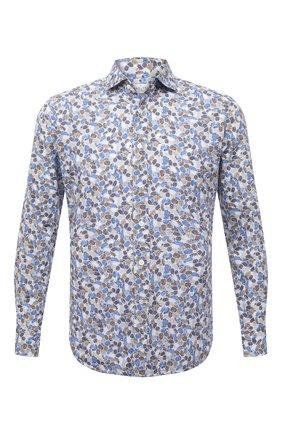 Мужская хлопковая рубашка BAGUTTA разноцветного цвета, арт. ANDREA_EBLW/11042 | Фото 1