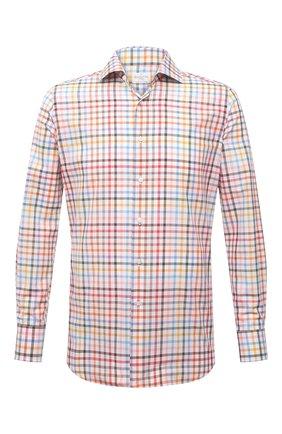 Мужская хлопковая рубашка BAGUTTA разноцветного цвета, арт. 342_EBL/11181 | Фото 1