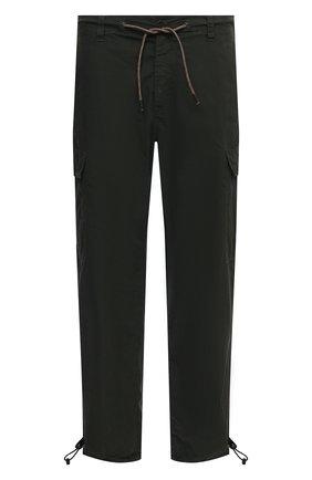 Мужские хлопковые брюки-карго ASPESI зеленого цвета, арт. S1 A CP10 G329 | Фото 1
