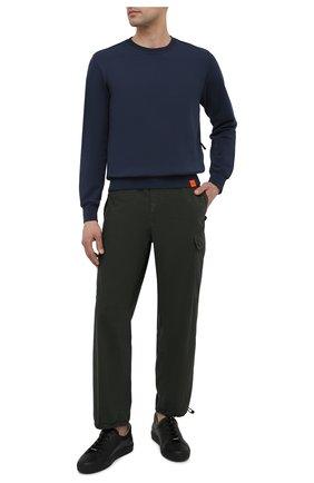Мужские хлопковые брюки-карго ASPESI зеленого цвета, арт. S1 A CP10 G329 | Фото 2