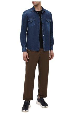 Мужская джинсовая рубашка JACOB COHEN синего цвета, арт. J8067 06528-W2/55 | Фото 2