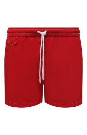 Мужские плавки-шорты KITON красного цвета, арт. UC0M2CX07T09 | Фото 1